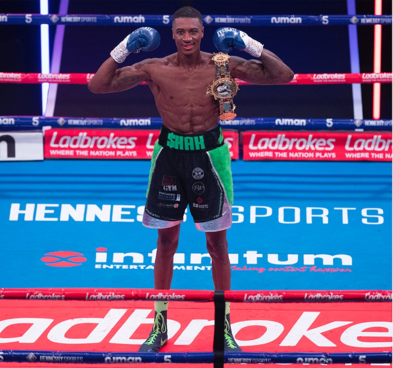 Chad Sugden, Shakan Pitters - Shakan Pitters is the new British Light-Heavyweight Champion after defeating Chad Sugden by unanimous points decision in Redditch last night.