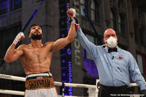 Cecilia Braekhus, Israil Madrimov, Jessica McCaskill, Nikita Ababiy, Shakhram Giyasov -  Jessica McCaskill put the boxing world on notice as she claimed the undisputed crown from Cecilia Brækhus in a thrilling upset from the streets of downtown Tulsa and live on DAZN. At stake for Brækhus was shattering boxing's most prestigious record – 25 consecutive world title defenses – one that she now holds with heavyweight legend Joe Louis.