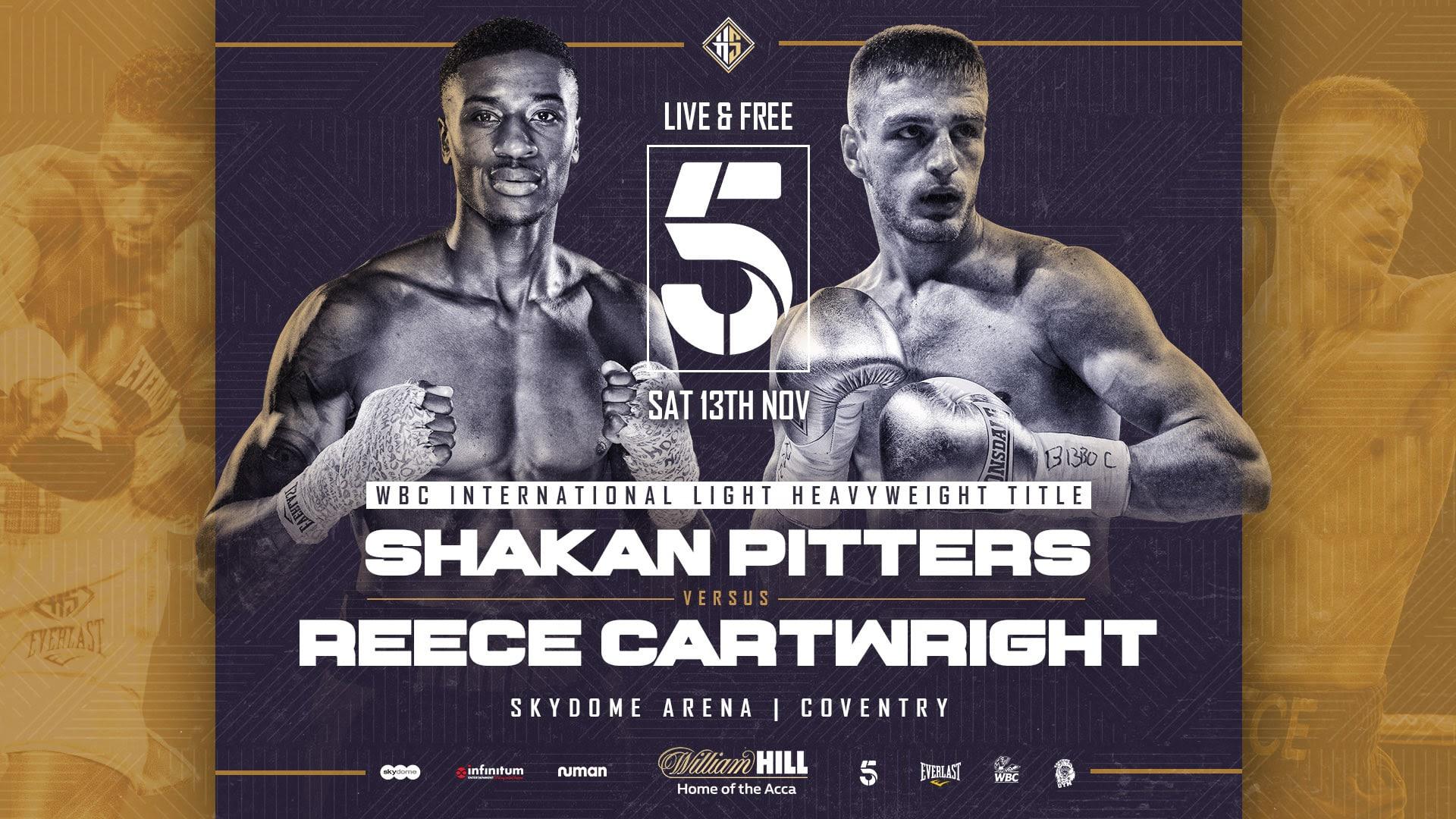 Shakan Pitters - British Boxing