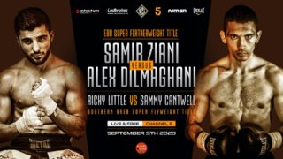 Sammy Cantwell - Sammy Cantwell and Ricky Little's Southern Area Super-Flyweight showdown has been rescheduled to take place on Saturday 5th September.