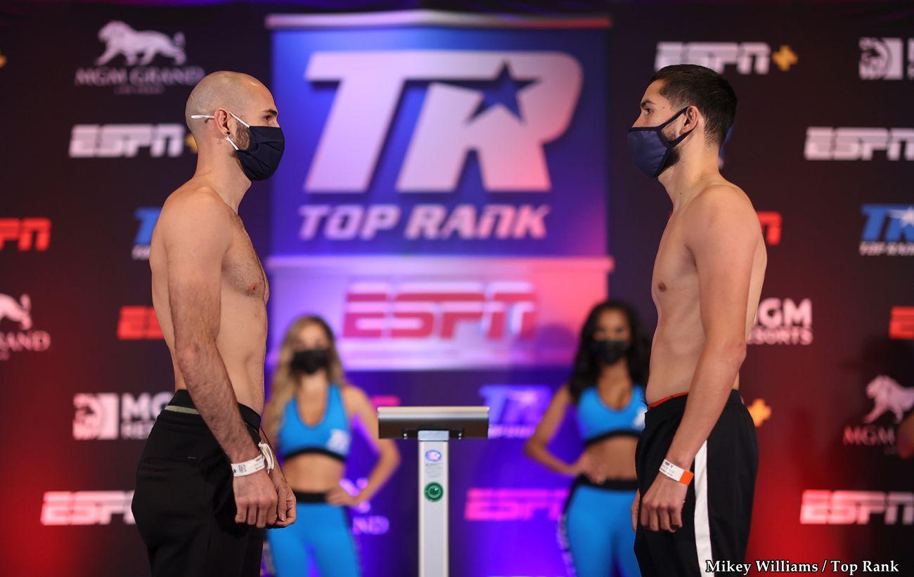 Javier Molina, Jose Pedraza - Boxing News