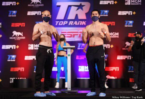 Javier Molina, Jose Pedraza - Pedraza-Molina and Efe Ajagba-Jonnie Rice heavyweight battle to headline Saturday evening show LIVE on ESPN+ (7:30 p.m. ET)