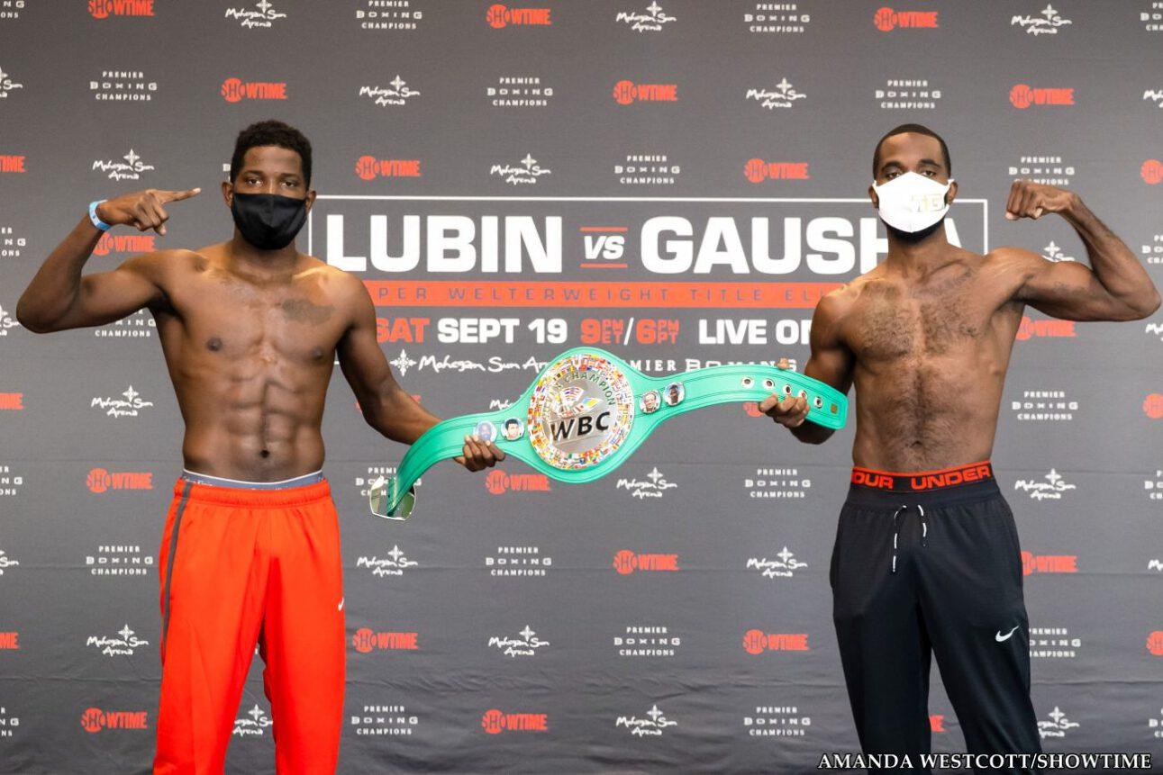 Erickson Lubin, Terrell Gausha - Boxing Results