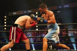 Jose Luis Gallegos, Nestor Bravo, Victor Pasillas - Unbeaten lightweight prospect Nestor Bravo (19-0, 13 KOs) earned a unanimous decision victory over Jose Luis Gallegos (19-9, 14 KOs) after 10-rounds of action Wednesday night in the main event of FS1 PBC Fight Night and on FOX Deportes from Microsoft Theater in Los Angeles.