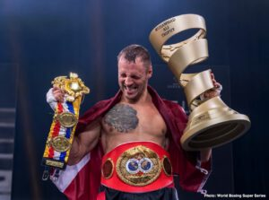 Mairis Briedis - An emotional Mairis Briedis talks about his epic World Boxing Super Series journey and a possible move to heavyweight after conquering Yuniel Dorticos in Saturday's Season II WBSS Cruiserweight Final.