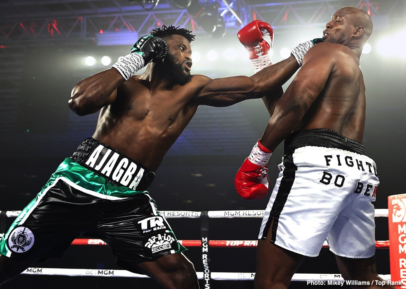 Efe Ajagba - Boxing News