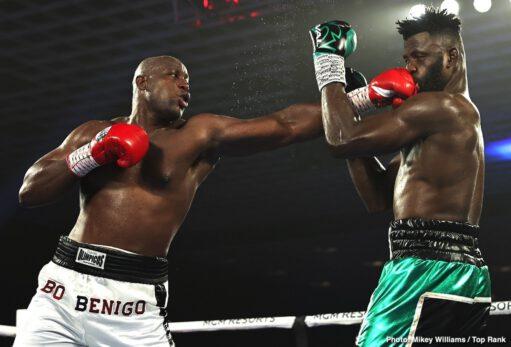 Efe Ajagba, Javier Molina, Jonnie Rice, Jose Pedraza - Boxing News