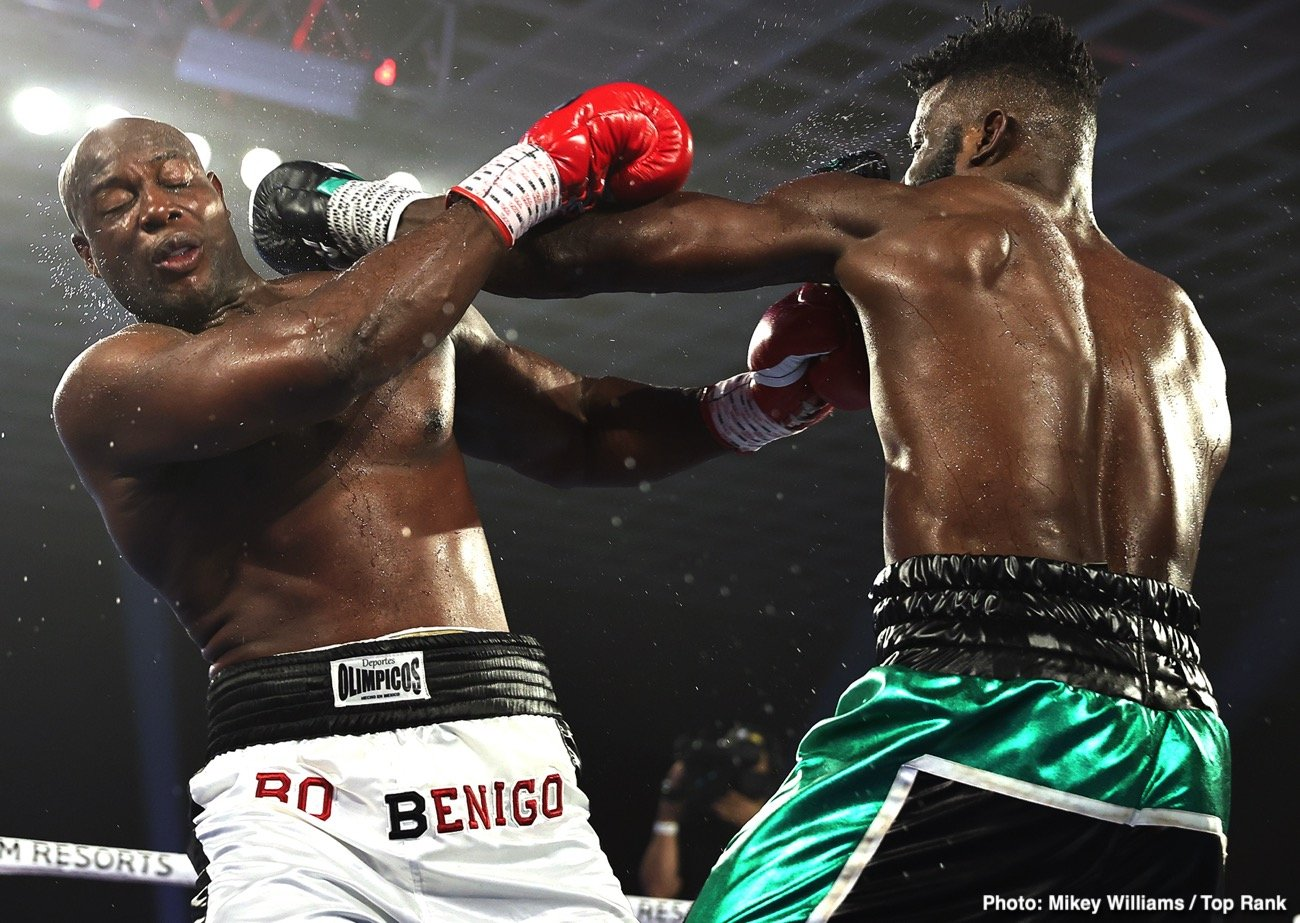 Efe Ajagba - Efe Ajagba Wins Top Rank Debut But Is Still A Million Miles Away From A Fight With Anthony Joshua