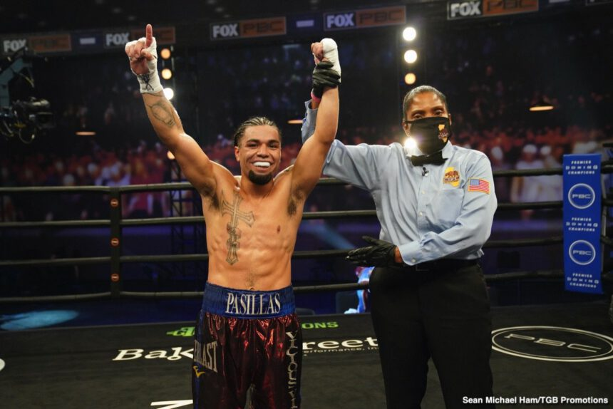 Victor Pasillas - Boxing Results