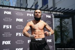 Jose Luis Gallegos, Nestor Bravo -  Undefeated lightweight prospect Néstor Bravo will take on José Luis Gallegos in a 10-round showdown that headlines FS1 PBC Fight Night and on FOX Deportes Wednesday, September 23 from Microsoft Theater in Los Angeles.