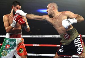 "Jonnie Rice - Jose Pedraza's second appearance in the MGM Grand ""Bubble"" resulted in yet another victory, as the Puerto Rican former two-weight world champion bested fellow 2008 Olympian Javier Molina via unanimous decision (99-91 and 98-92 2x) in the junior welterweight main event."