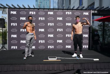"Mark Magsayo, Rigoberto Hermosillo - Unbeaten featherweight contender Mark ""Magnifico"" Magsayo will take on hard-hitting Rigoberto Hermosillo in the 10-round main event of FS1 PBC Fight Night and on FOX Deportes Saturday, October 3 from Microsoft Theater in Los Angeles."