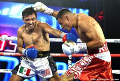 """Efe Ajagba, Javier Molina, Jonnie Rice, Jose Pedraza - Jose Pedraza's second appearance in the MGM Grand """"Bubble"""" resulted in yet another victory, as the Puerto Rican former two-weight world champion bested fellow 2008 Olympian Javier Molina via unanimous decision (99-91 and 98-92 2x) in the junior welterweight main event."""