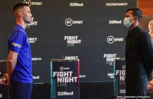 British Boxing - Josh Taylor Vs Khongsong to begin LIVE at 2:30 p.m. ET/11:30 a.m. PT on ESPN+ in the US - Live coverage on BT Sport 1 begins on Saturday at 7.30pm in UK