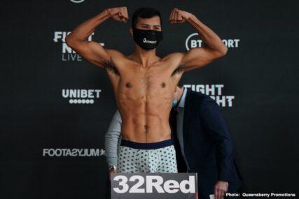 Apinun Khongsong, Charlie Edwards, Davey Oliver Joyce, Josh Taylor - Boxing News