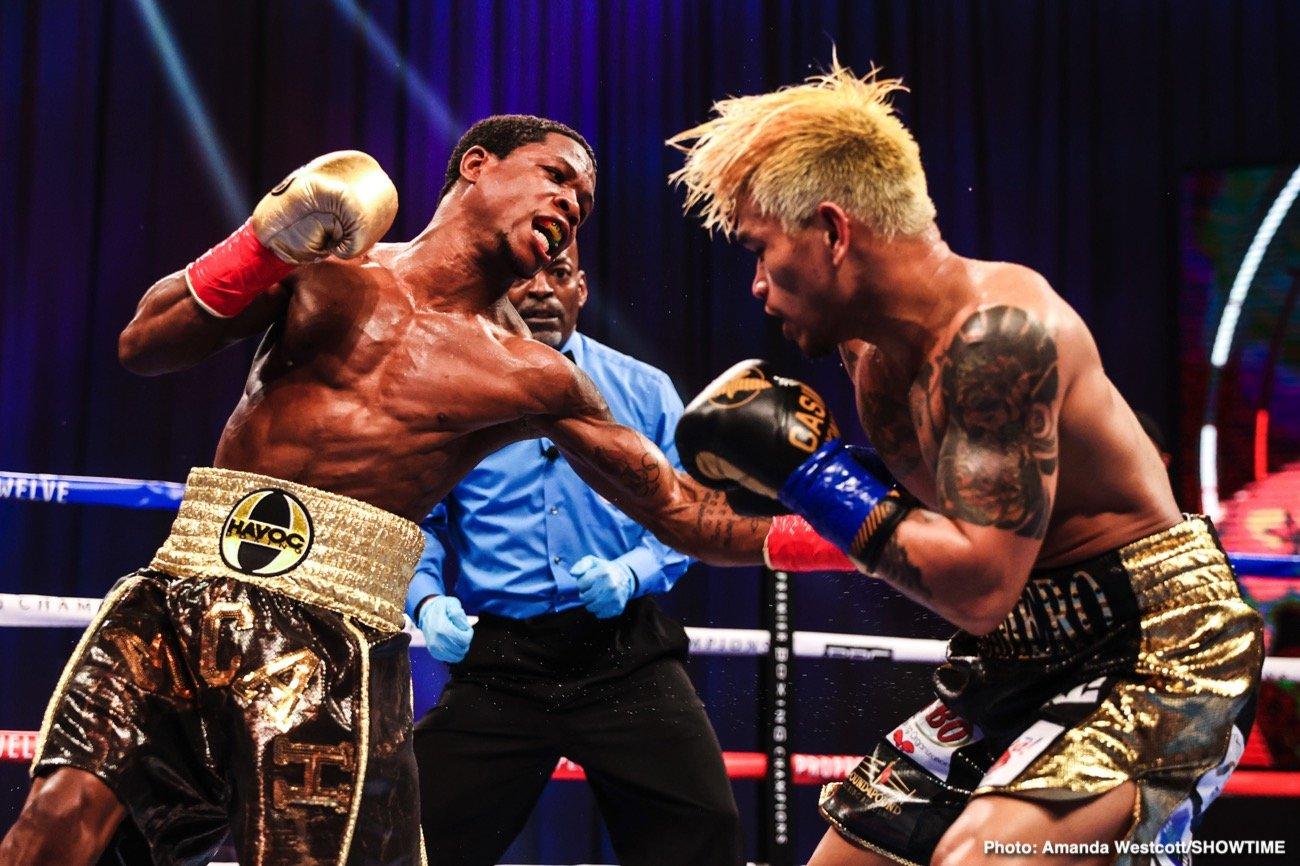 Duke Micah, John Riel Casimero - Boxing News