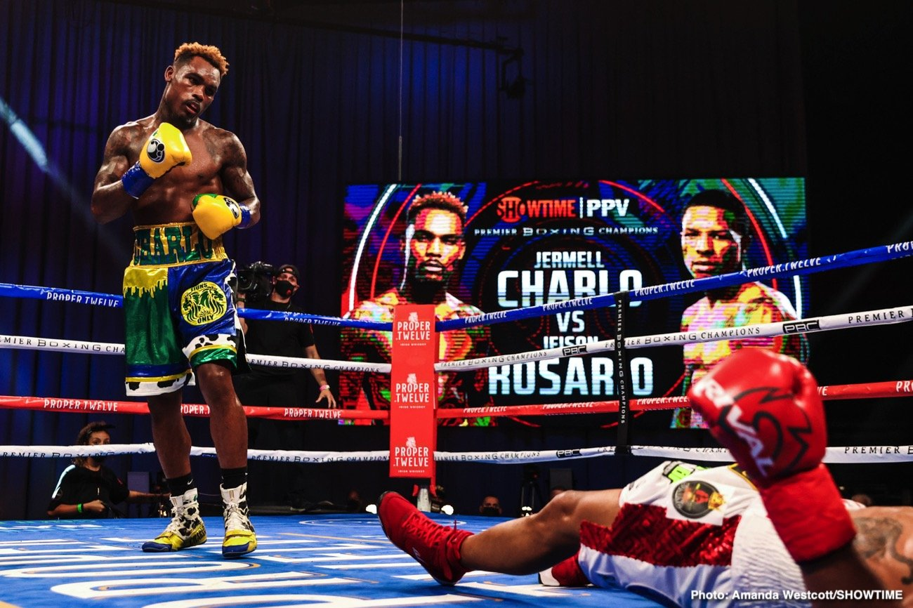 Jeison Rosario, Jermell Charlo - Boxing News