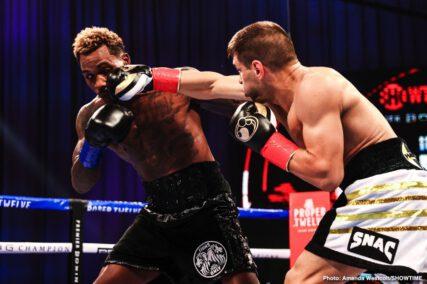 Jermall Charlo, Sergiy Derevyanchenko - Boxing News