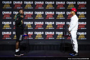 Jeison Rosario, Jermall Charlo, Jermell Charlo, Sergiy Derevyanchenko - September 24, 2020 - Top fighters and trainers shared their thoughts and gave predictions on the two main events headlining the blockbuster CHARLO DOUBLEHEADER this Saturday, September 26, live on SHOWTIME PPV (7 p.m. ET/4 p.m. PT) from Mohegan Sun Arena in Uncasville, Conn., in an event presented by Premier Boxing Champions.