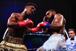 "Erickson Lubin, Terrell Gausha - Erickson ""The Hammer"" Lubin out-classed Terrell Gausha in a WBC Super Welterweight Title Eliminator to set up a matchup with the winner of the Jermell Charlo vs. Jeison Rosario unification bout, part of next week's CHARLO DOUBLEHEADER on SHOWTIME PPV. Lubin won via unanimous decision (115-113, 116-112, 118-110) in the main event of an exciting night of boxing live on SHOWTIME Saturday night from Mohegan Sun Arena in Uncasville, Conn., in an event presented by Premier Boxing Champions."