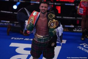 Josh Taylor wants Crawford, Spence Or Lopez
