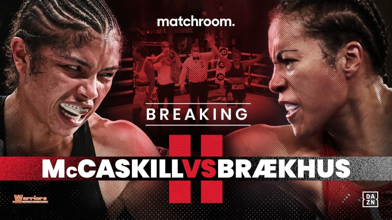 Cecilia Braekhus, Jessica McCaskill - BRÆKHUS ACTIVATES MCCASKILL REMATCH CLAUSE --  Chicago star will defend undisputed Welterweight title in early 2021