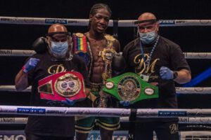 Akeem Ennis-Brown - It was a yet another spectacular #MTKFightNight event - which featured five incredible knockout wins and the crowning of a new British and Commonwealth super-lightweight champion.