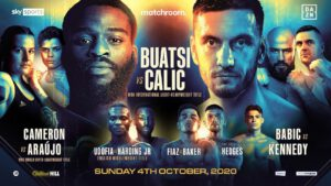 Joshua Buats, Marko Calic - Rising Light-Heavyweight star Joshua Buatsi will make his long-awaited return to the ring on Sunday, October 4 as he defends his WBA International Title against undefeated Croat Marko Calic, live on Sky Sports and DAZN.