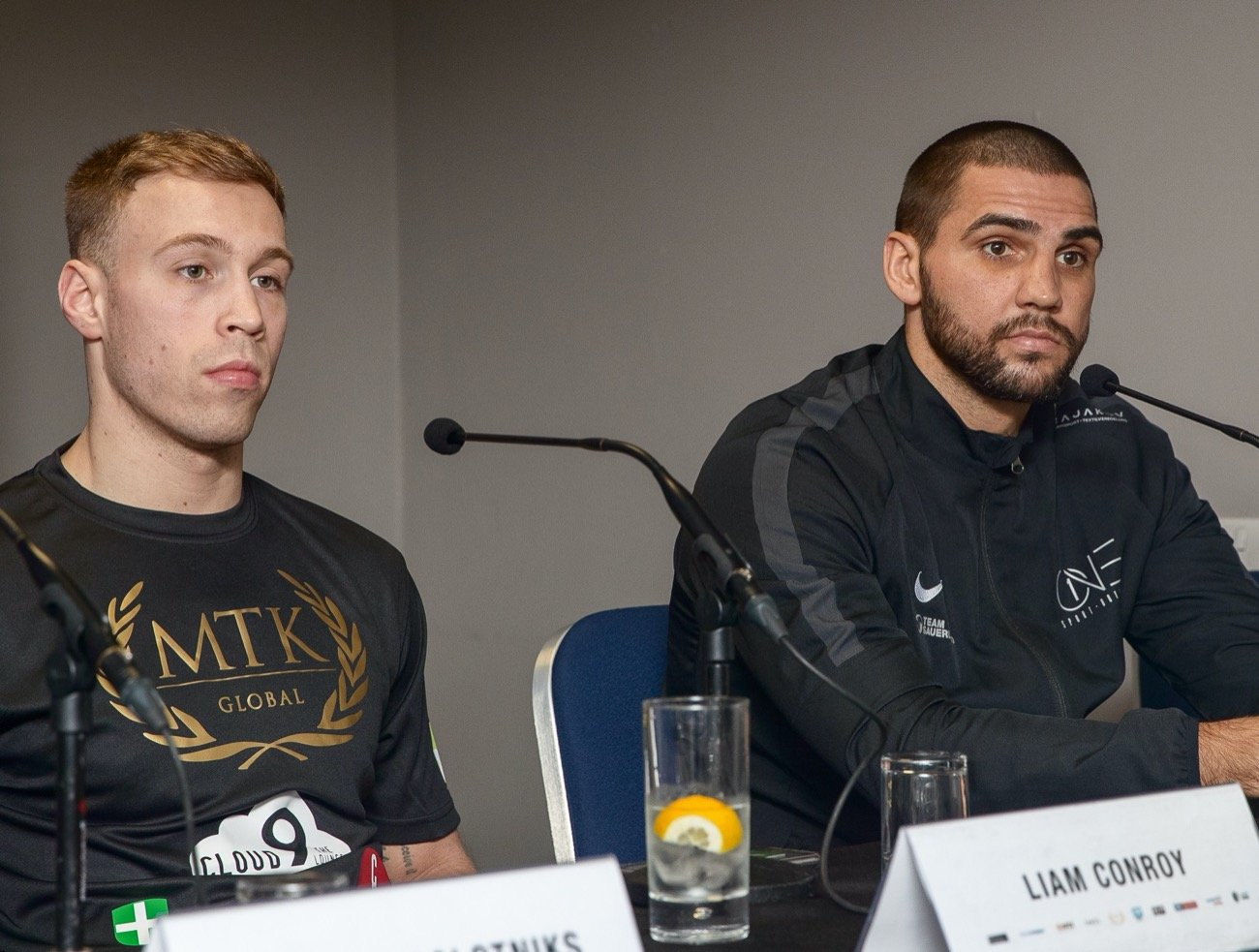 Liam Conroy, Serge Michel - Conroy: Getting picked has lit a fire in me - Liam Conroy has warned Serge Michel that he's made a big mistake by picking him ahead of their #GoldenContract light-heavyweight semi-final.