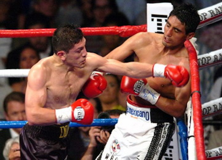 "David Diaz, Erik Morales, Manny Pacquiao - ""I'd never seen anything like Pacquiao before. I'd block one shot and he'd hit me with another one as I was trying to parry still another one!"""