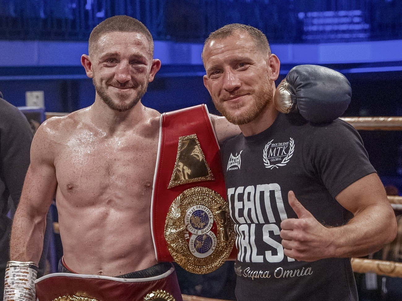 Jazza Dickens, Ryan Walsh - Ryan Walsh knows that his upcoming fight with Jazza Dickens could make or break his career ahead of their #GoldenContract featherweight final showdown later this month.