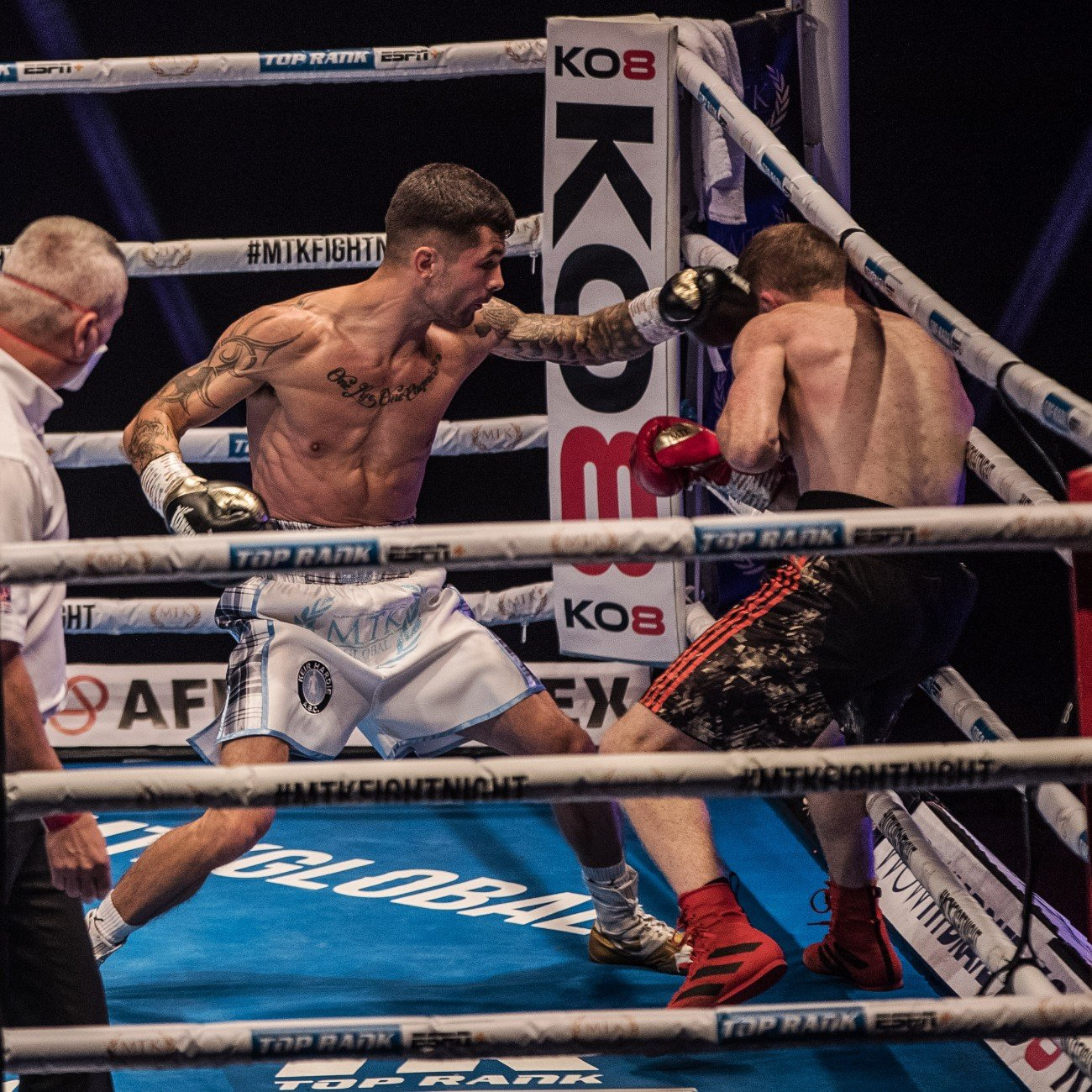 Akeem Ennis-Brown, Philip Bowes - It was a yet another spectacular #MTKFightNight event - which featured five incredible knockout wins and the crowning of a new British and Commonwealth super-lightweight champion.