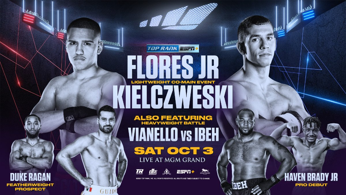 Gabriel Flores Jr, Ryan Kielczweski - Boxing News