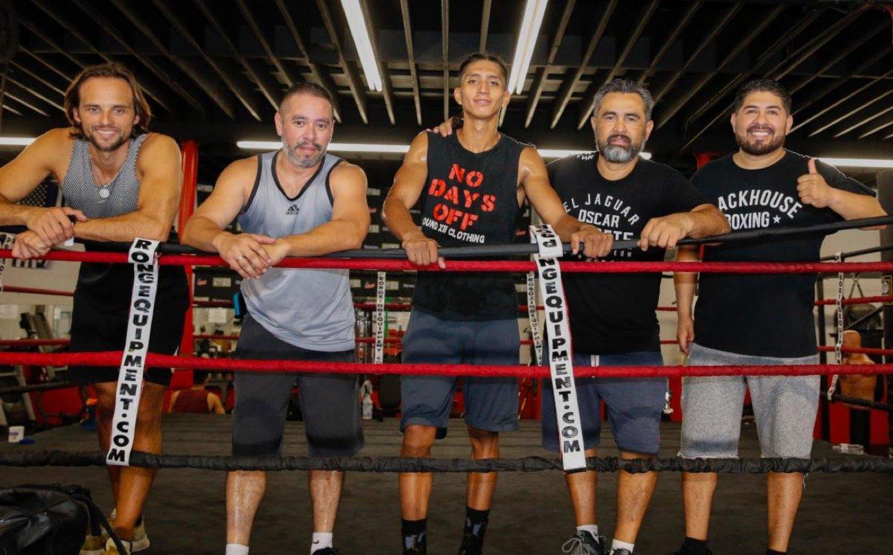 Luis Lopez, Saul Bustos - Press Room