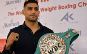 Amir Khan, Mauricio Sulaimán - The WBC Board of Governors hereby announces the creation of the WBC Middle East Boxing Council, and the appointment of former two-time World Boxing Champion Amir Khan as President, and Mr Taz Khan as Vice President.