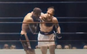"""Rocky Marciano - Let's examine Rocky Marciano's five heavyweight title defences in wake of his one round demolition of 39-year old Jersey Joe Walcott on May 15, 1953: the rematch to their ultra-dramatic scrap on March 3, 1953 when the """"behind-on-the-scorecards"""" Brockton Blockbuster pulled victory from the jaws of defeat in round thirteen with a perfectly-timed right uppercut near the ropes that landed flush on  Walcott's jaw, leaving  the champ a helpless heap whose pummeled body collapsed to the ring apron with a sickening thud."""
