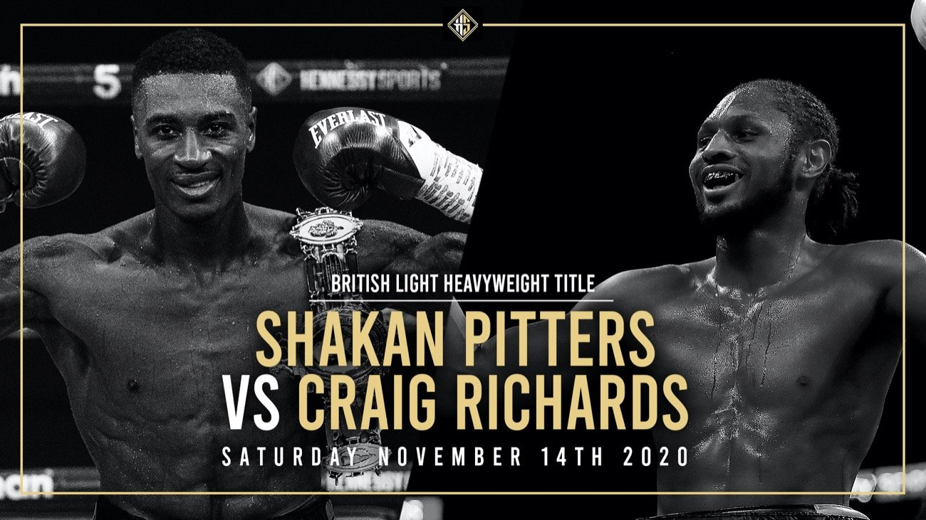 Shakan Pitters - British Boxing