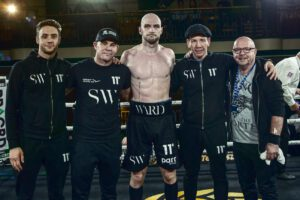 Steven Ward - Steven Ward makes his highly-anticipated cruiserweight debut against Jone Volau next Wednesday - and the Belfast man hopes a win there can lead to a shot at the British title in the next 12 months.