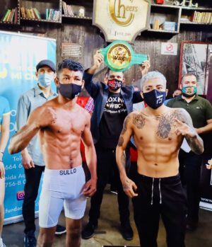 Alejandro Santiago, Willibaldo Garcia - WEIGHTS FROM SANTIAGO VS. GARCIA IN TIJUANA - FOUR-FIGHT NIGHT OF WORLD-CLASS PROFESSIONAL BOXING LIVESTREAMED ON FITE.TV AND GSS TONIGHT
