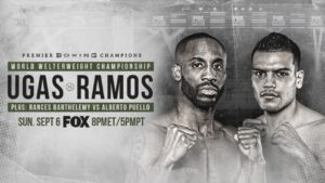 Yordenis Ugas - Yorgenis Ugs and Abel Ramos meet this Sunday on FOXin welterweight action. The two met on Thursday to give their thoughts on their match-up at the Microsoft Theater in Los Angeles.