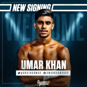 Oliver Zaren, Umar Khan - National amateur titlist Umar Khan has signed promotional terms with Frank Warren and will turn professional under the Queensberry Promotions banner.