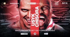 Derek Chisora - Ukrainian pound-for-pound star Oleksandr Usyk will finally face British favourite Derek Chisora on Saturday October 31, live on Sky Sports Box Office in the UK and DAZN in the US, after their original May 23 date was postponed due to the COVID-19 pandemic.