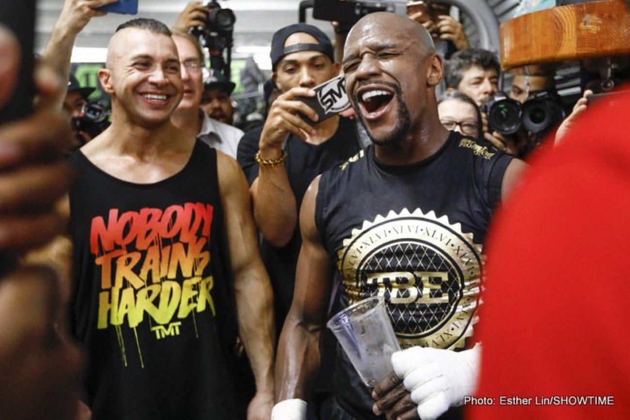 Floyd Mayweather, Logan Paul - Boxing News