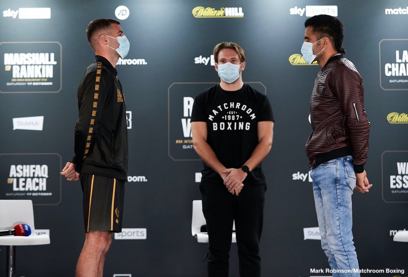 Lewis Ritson, Miguel Vazquez - 19:00 LIVE ON SKY SPORTS ARENA - 20:15 LIVE ON SKY SPORTS MAIN EVENT
