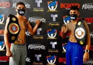 Antonio Moran, Xander Zayes - Photo Credits: Damon Gonzalez/All Star Boxing