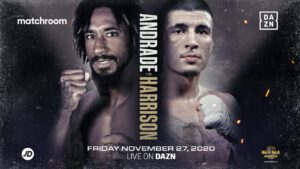 Demetrius Andrade, Dusty Hernandez-Harrison - Demetrius Andrade appears to be done for the year after his scheduled November 27th opponent Dusty Hernandez-Harrison reportedly tested positive for COVID-19.