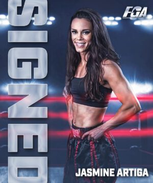 Jasmine 'Animal' Artiga - Peter Kahn's Fight Game Advisors has signed Undefeated Super Flyweight Female Prospect Jasmine 'Animal' Artiga, (7-0-1, 4 KOs), of Tampa, FL to an exclusive management contract, it was announced today.