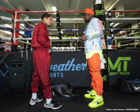 Floyd Mayweather, Gervonta Davis, Leo Santa Cruz - SHOWTIME Sports will provide live streaming coverage of fight week events featuring three-time world champion Gervonta Davis and four-division world champion Leo Santa Cruz ahead of their blockbuster SHOWTIME PPV (9 p.m. ET/6 p.m. PT) main event battle for the WBA Super Featherweight and WBA Lightweight Championships.