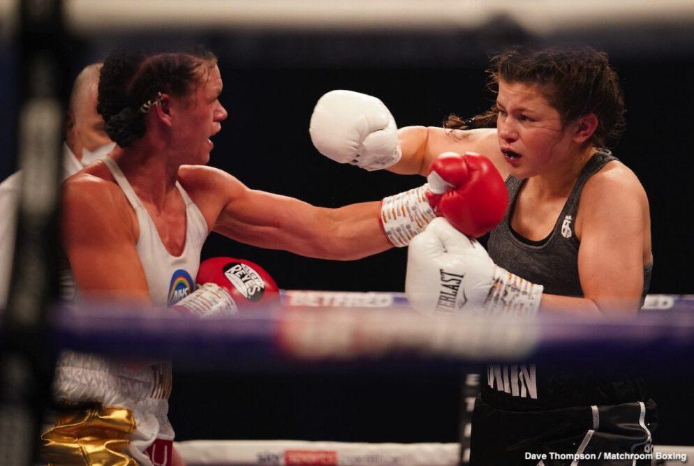 Alexander Usyk, Amy Timlin, Derek Chisora, George Kambosos Jr., Hannah Rankin, Lee Selby, Savannah Marshall - Boxing News