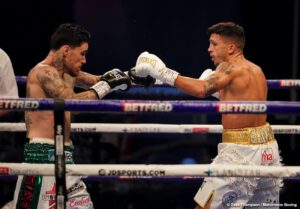 George Kambosos, Teofimo Lopez - 'Ferocious' George Kambosos Jr., (19-0, 10 KOs), lived up to his brash confidence winning a 12-round decision over Lee Selby, (28-3, 9 KOs), this past Saturday night, October 31 at the Wembley Arena in London, England. With the dominant victory, Kambosos became the IBF Mandatory Challenger to 135lb. Undisputed World Champion Teofimo Lopez.